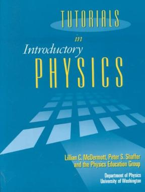 (PDF ebook) – Tutorials in Introductory Physics 1st Edition