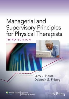 (PDF ebook) Management and Supervisory Principles for Physical Therapists, 3rd Edition
