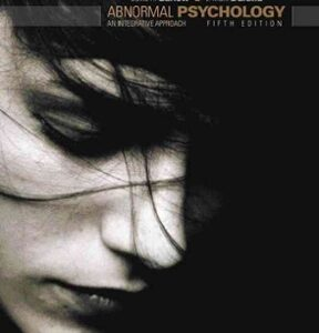 (PDF ebook) Abnormal Psychology: An Integrated Approach, 5th Edition