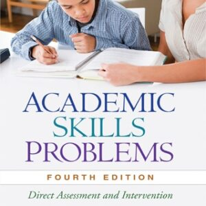 (PDF ebook) Academic Skills Problems: Direct Assessment and Intervention, 4th Edition