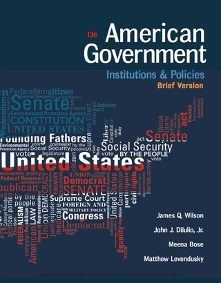 (PDF ebook) American Government: Institutions and Policies, Brief Version, 13th Edition