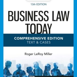 Business Law Today, Comprehensive, 13th Edition – PDF ebook*