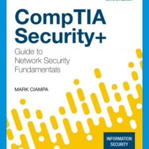 CompTIA Security Guide to Network Security Fundamentals, 7th Edition – PDF ebook*