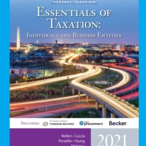 South-Western Federal Taxation 2021: Essentials of Taxation: Individuals and Business Entities, 24th Edition – PDF ebook*