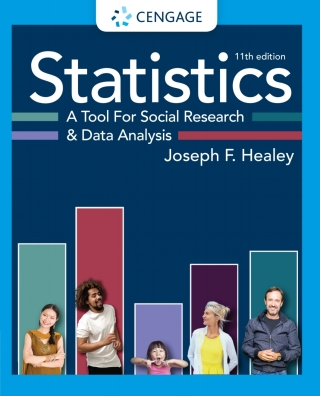 Statistics: A Tool for Social Research and Data Analysis, 11th Edition – PDF ebook*