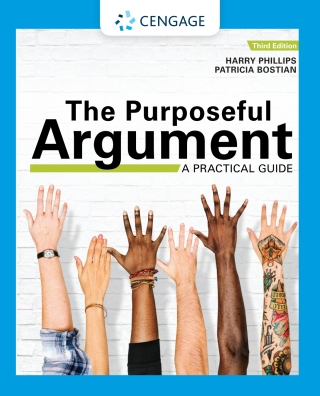 The Purposeful Argument: A Practical Guide with APA Updates, 3rd Edition – PDF ebook*