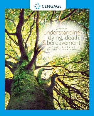 Understanding Dying, Death, and Bereavement, 9th Edition – PDF ebook*