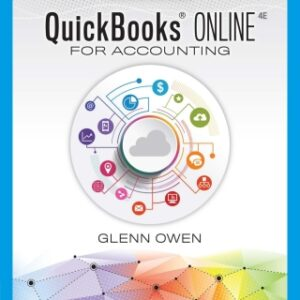 Using QuickBooks Online for Accounting 2021, 4th Edition – PDF ebook*