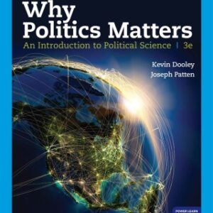 Why Politics Matters: An Introduction to Political Science, 3rd Edition – PDF ebook*