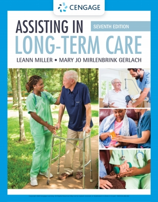 Assisting in Long-Term Care, 7th Edition – PDF ebook*