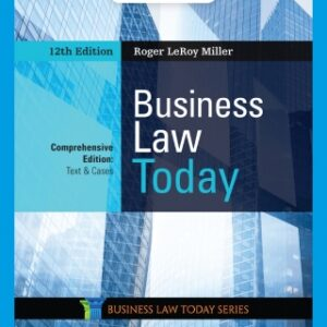 Business Law Today, Comprehensive, 12th Edition – PDF ebook*