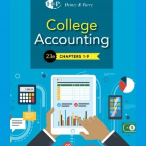 College Accounting, Chapters 1-27, 23rd Edition – PDF ebook*