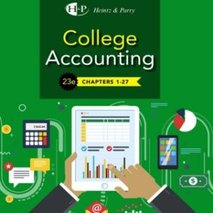 College Accounting, Chapters 1-27, 23rd (Hardcover), 23rd Edition – PDF ebook*
