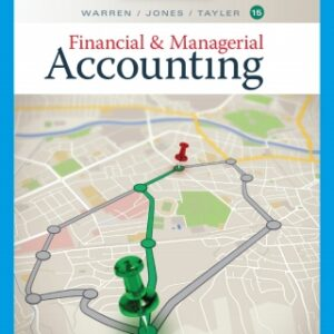 Financial and Managerial Accounting, 15th Edition – PDF ebook*