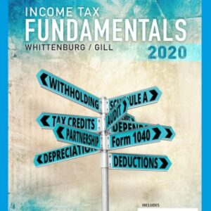 Income Tax Fundamentals 2020 (with Intuit ProConnect Tax Online), 38th Edition – PDF ebook
