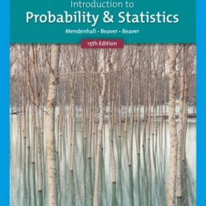 Introduction to Probability and Statistics, 15th Edition – PDF ebook