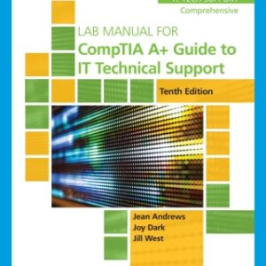 Lab Manual for CompTIA A Guide to IT Technical Support, 10th Edition – PDF ebook*