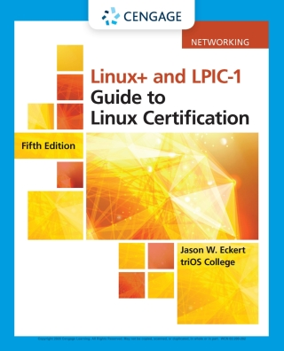 Linux and LPIC-1 Guide to Linux Certification, 5th Edition – PDF ebook
