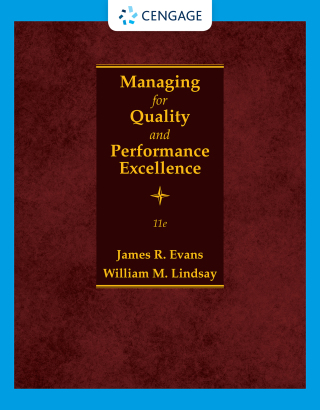 Managing for Quality and Performance Excellence, 11th Edition – PDF ebook*