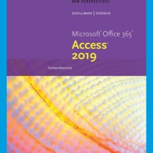 New Perspectives Microsoft Office 365 & Access 2019 Comprehensive, 1st Edition – PDF ebook*