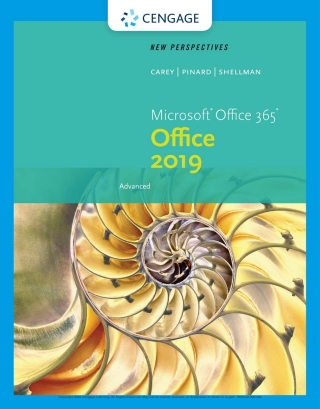 New Perspectives Microsoft Office 365 & Office 2019 Advanced, 1st Edition – PDF ebook*