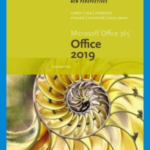 New Perspectives Microsoft Office 365 & Office 2019 Introductory, 1st Edition – PDF ebook*