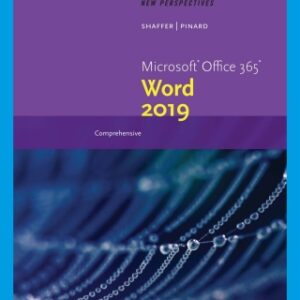 New Perspectives Microsoft Office 365 & Word 2019 Comprehensive, 1st Edition – PDF ebook*