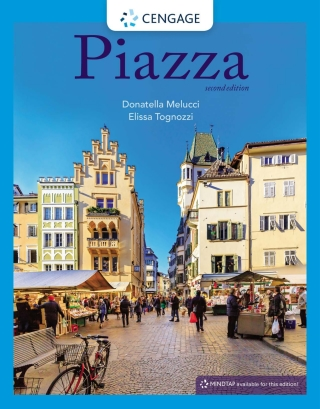 Piazza, Student Introductory Italian, 2nd Edition – PDF ebook*
