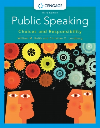 Public Speaking: Choices and Responsibility, 3rd Edition – PDF ebook*