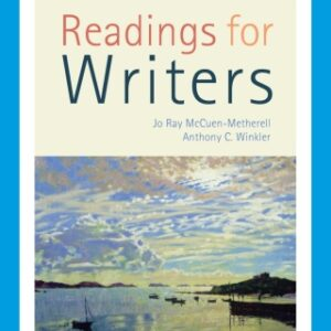 Readings for Writers with APA 7e Updates, 16th Edition – PDF ebook*