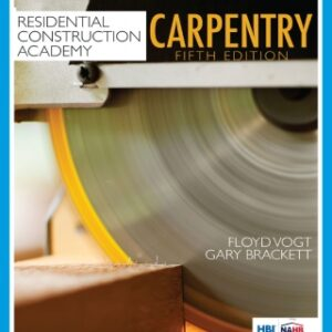 Residential Construction Academy: Carpentry, 5th Edition – PDF ebook*