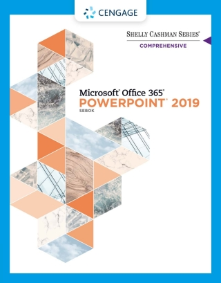 Shelly Cashman Series Microsoft Office 365 & PowerPoint 2019 Comprehensive, 1st Edition – PDF ebook*