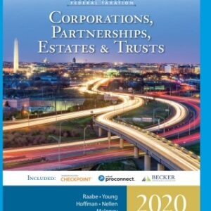 South-Western Federal Taxation 2020: Corporations, Partnerships, Estates and Trusts, 43rd Edition – PDF ebook*