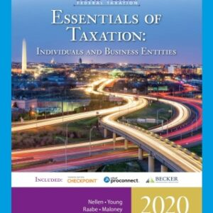 South-Western Federal Taxation 2020: Essentials of Taxation: Individuals and Business Entities, 23rd Edition – PDF ebook*