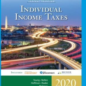 South-Western Federal Taxation 2020: Individual Income Taxes, 43rd Edition – PDF ebook*