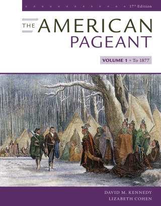 The American Pageant, Volume I, 17th Edition – PDF ebook*