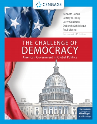 The Challenge of Democracy, American Government in Global Politics, Enhanced, 14th Edition – PDF ebook*