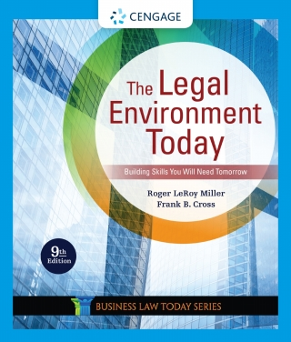 The Legal Environment Today, 9th Edition – PDF ebook*
