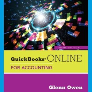 Using QuickBooks Online for Accounting, 3rd Edition – PDF ebook*