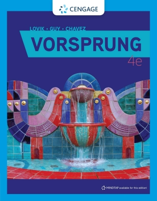 Vorsprung: A Communicative Introduction to German Language and Culture, 4th Edition – PDF ebook*