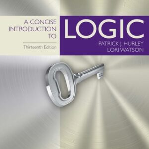 (PDF ebook) A Concise Introduction to Logic, 13th Edition