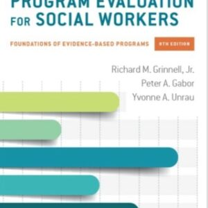 Download PDF – Program Evaluation for Social Workers: Foundations of Evidence-Based Programs 8th Edition