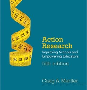 (PDF ebook) Action Research: Improving Schools and Empowering Educators, 5th Edition