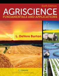 Agriscience Fundamentals and Applications Updated, Precision Exams Edition, 6th Edition – PDF ebook*