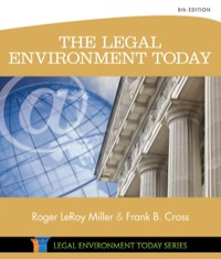 The Legal Environment Today, 8th Edition – PDF ebook*