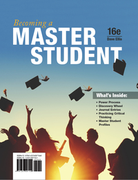 Becoming a Master Student, 16th Edition – PDF ebook