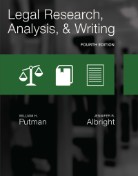 Legal Research, Analysis, and Writing, 4th Edition – PDF ebook