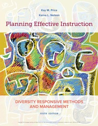 Planning Effective Instruction: Diversity Responsive Methods and Management, 6th Edition – PDF ebook*