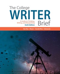 The College Writer: A Guide to Thinking, Writing, and Researching, Brief, 6th Edition – PDF ebook