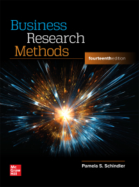 Business Research Methods 14th Edition by Pamela S. Schindler – PDF ebook*